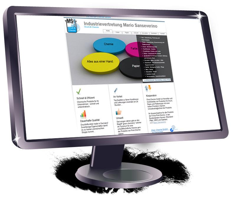 Homepage Druck & Chemie