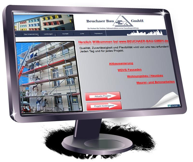 Homepage Bauunternehmen