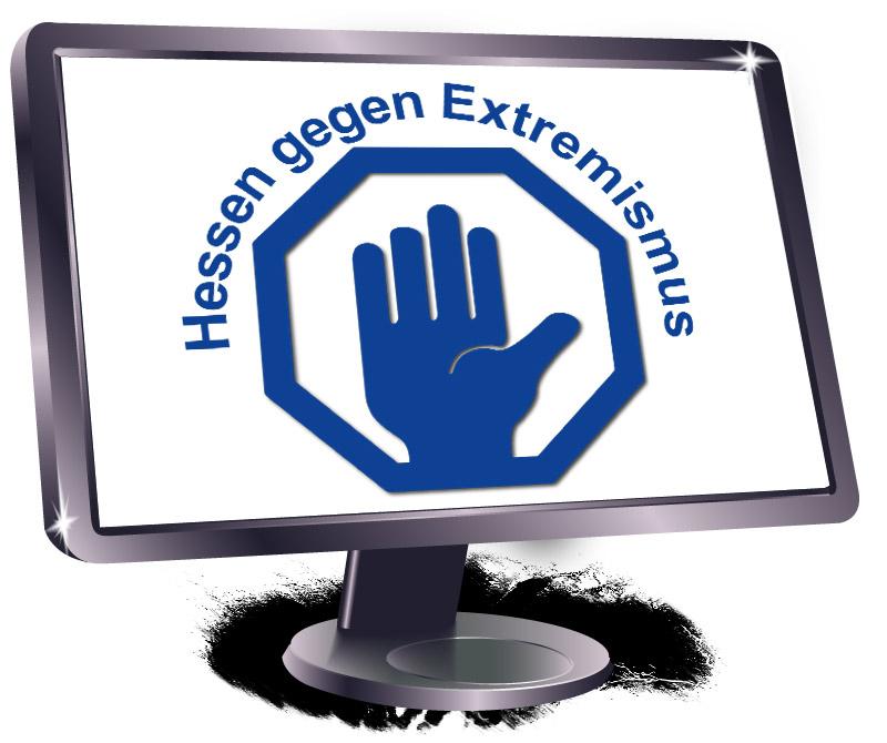 Logo Hessen gegen Extremismus