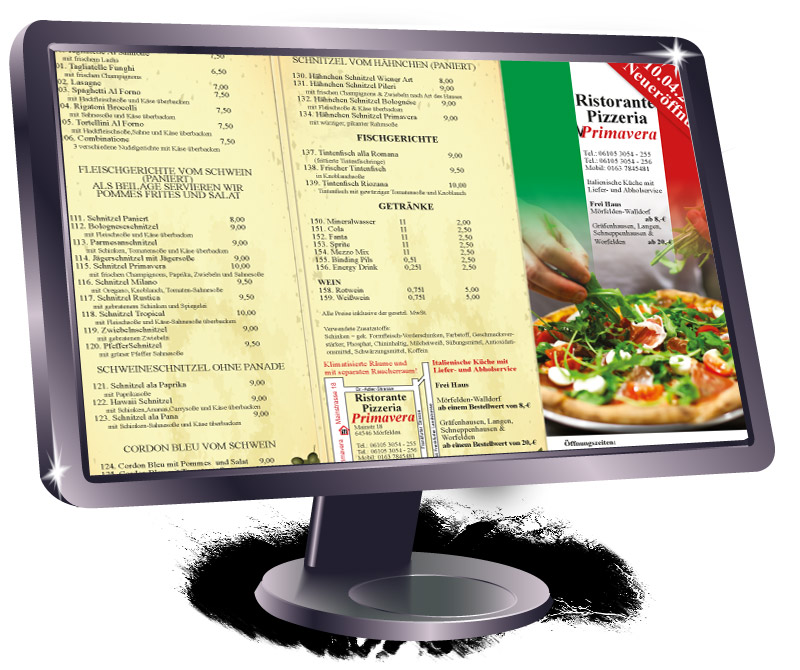 Flyer-pizzaria