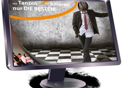 Plakat Tanzschule