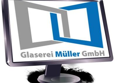 Neues Logo Glaserei