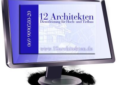 Visitenkarte für Architekten