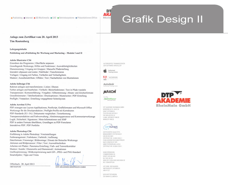 Grafik-Design II