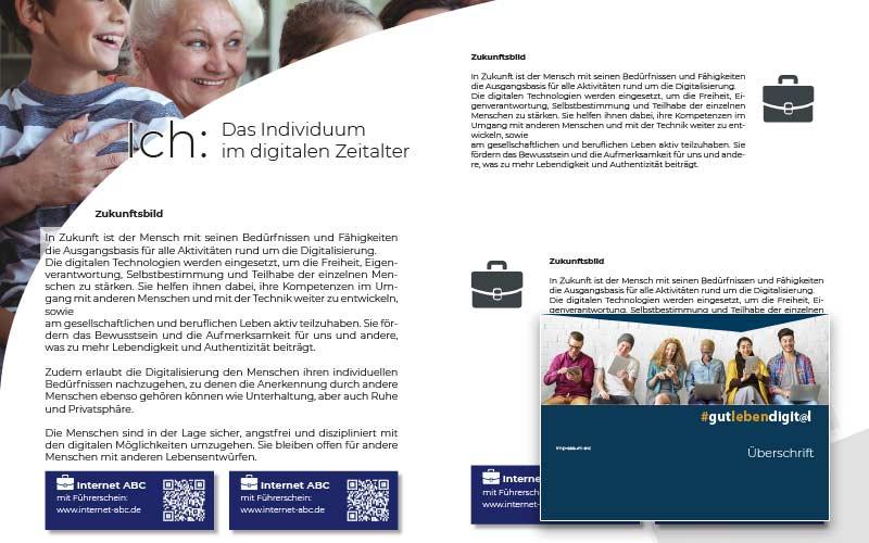 Broschüre-Entwerfen