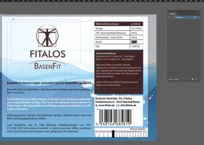 Etikett BasenFit