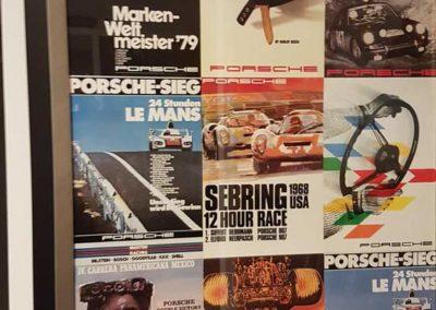 Bild Porsche schön gerahmt
