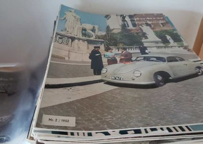 Porsche-Christophorus ab Ausgabe 2 von 1952