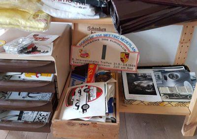 Porsche Aufkleber und alte S-AU-Hefte