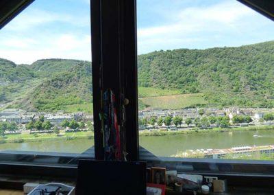 Ausblick aus dem Arbeitszimmer
