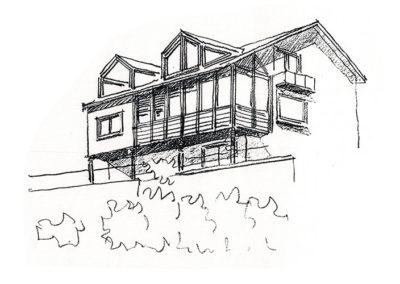 Haus Ansicht Moselseite