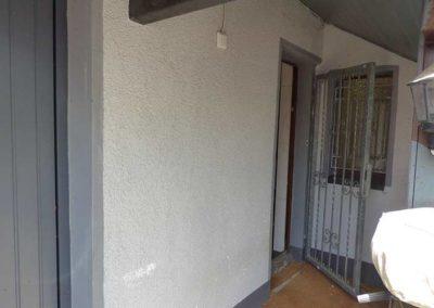 Tür Carport / Badezimmer