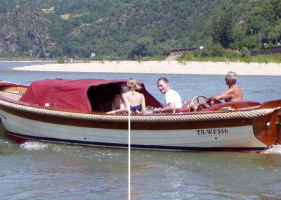 2008 Abstecher auf den Rhein