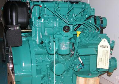 Motor bei der Fertigung 2004