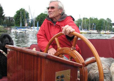 Ruder mit Skipper