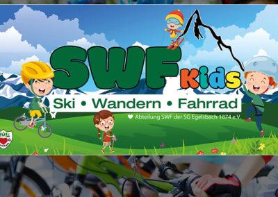Banner für die SWF Kids der SGE Egelsbach