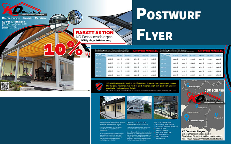 Postwurf-Flyer